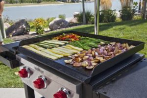 Howto Grill on a Flat Top Griddle